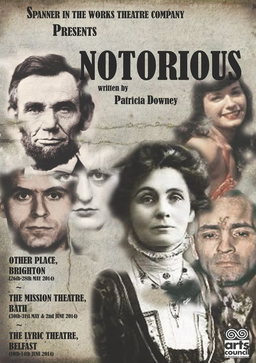Notorious poster a5 all theatres